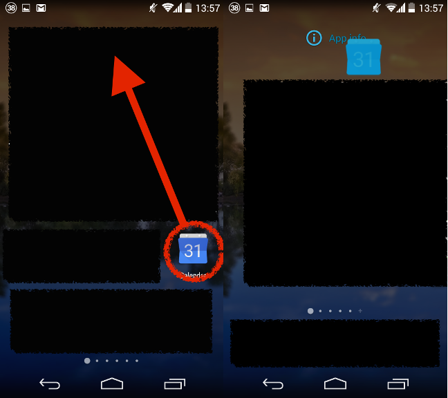 Revert Google Calendar Android app to previous version - Thinking in